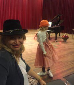 """Pianoles bij Studio """"Allegro"""" een Hope Gezelligheid en Plezier!"""